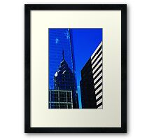 More Philly Blue Framed Print