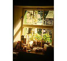 Cottage kitchen window Photographic Print
