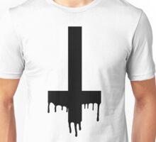 dripping cross Unisex T-Shirt