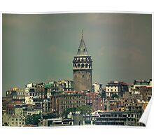 Galata Tower, Istanbul Poster