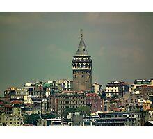 Galata Tower, Istanbul Photographic Print
