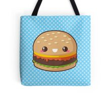 Kawaii Cheeseburger Tote Bag