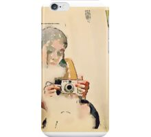 Self Portrait with Camera iPhone Case/Skin