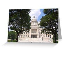 Rhode Island State House Greeting Card