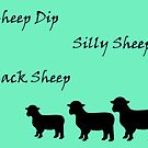 Black Sheep Art Card by sarnia2