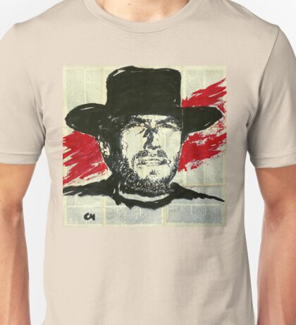 Clint Eastwood.  Unisex T-Shirt
