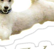 Me Falcor: Neverending Story Flying Poodle  Sticker