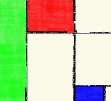 Mondrian 2000 by IllustratedWrld