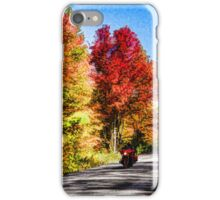 Colorful Bike Ride - Impressions Of Fall iPhone Case/Skin