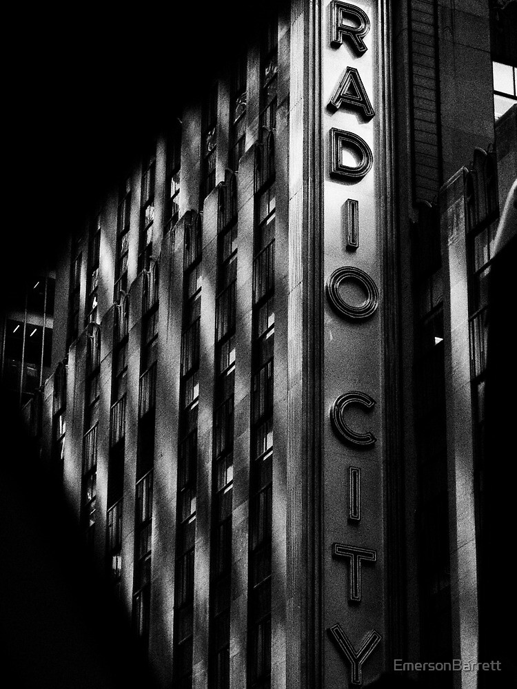 Radio City Music Hall by EmersonBarrett