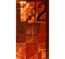 number 2 series: ~warm Red~ Photographic Print