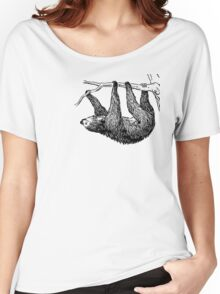 Vintage Sloth Women's Relaxed Fit T-Shirt