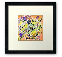 ( MELANAHOLY )   ERIC WHITEMAN ART  Framed Print