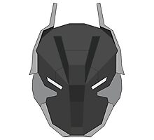 Arkham Knight Mask Photographic Print