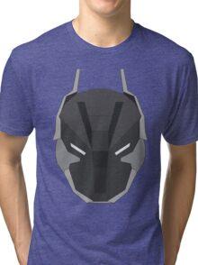 Arkham Knight Mask Tri-blend T-Shirt