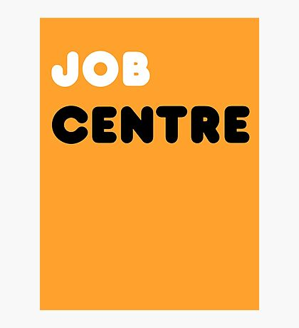 Job Centre - 1980s style unemployment office  Photographic Print