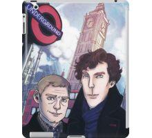 Sherlock and John in London iPad Case/Skin