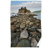 The rocky path Poster