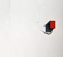 Wired to the wall by Erika Gouws