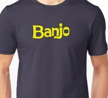 Banjo - retro biscuit wafer chocolate Unisex T-Shirt