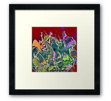 ( AL-CHOO)  ERIC WHITEMAN ART   Framed Print