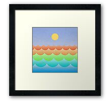 The Sea In My Dreams Framed Print