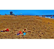 Sand Toys Photographic Print
