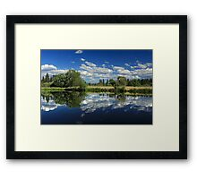 Hat Creek Reflections Framed Print