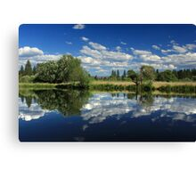 Hat Creek Reflections Canvas Print