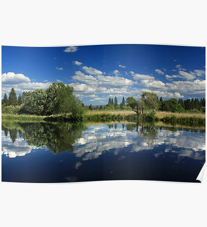 Hat Creek Reflections Poster