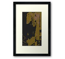 number 2 series : urban dreams barely green Framed Print