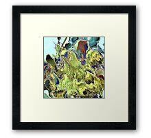 ( TRANIS1 )  ERIC WHITEMAN  ART  Framed Print