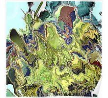 ( TRANIS1 )  ERIC WHITEMAN  ART  Poster