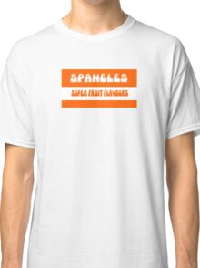 Super Fruit Flavoured Spangles 1970s retro boiled sweets Classic T-Shirt