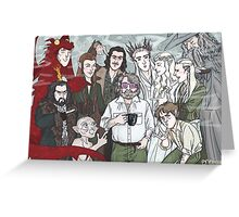 Hobbit Party Greeting Card