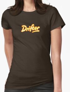 Retro Rowntree's Drifter chocolate bar pack logo Womens Fitted T-Shirt