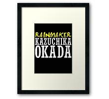 Kazuchika Okada Framed Print
