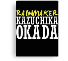 Kazuchika Okada Canvas Print