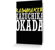 Kazuchika Okada Greeting Card