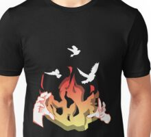 Phoenix reborn from Fire Unisex T-Shirt