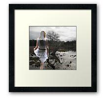 prescience  Framed Print