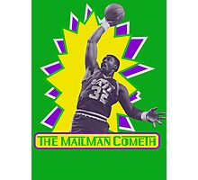 The MailMan Cometh Photographic Print