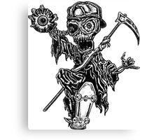 Thrashin' Reaper Canvas Print