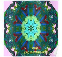 ( XEMAL  )   ERIC WHITEMAN  ART  Poster