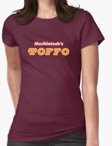 Retro Mackintosh's Toffo toffee chews  Womens Fitted T-Shirt