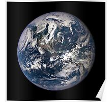 EPIC EARTH IMAGE FROM SPACE Poster