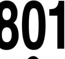 801 local zonly Sticker