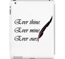 Wedding words iPad Case/Skin