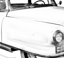 1950 Nash Ambassador Car illustration Sticker