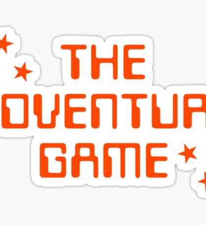 The Adventure Game title Sticker